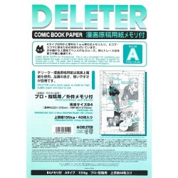 Comic Book Paper Type A Professional Use B4/135kg