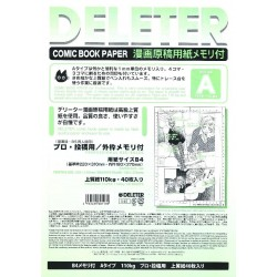Comic Book Paper Type A Professional Use B4/110kg