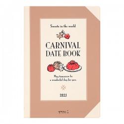 Midori Agenda 2021 - Carnival - B6