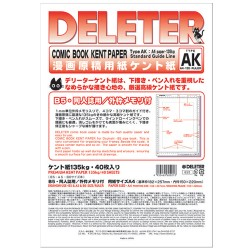 Comic Book Kent Paper AK Dojinshi Use B4/135g