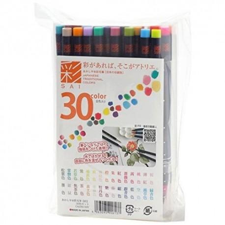 SAI - set de 30 couleurs -