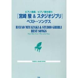 Hayao Miyazaki & Studio Ghibli best songs - Piano Music Score, Play on the Piano -