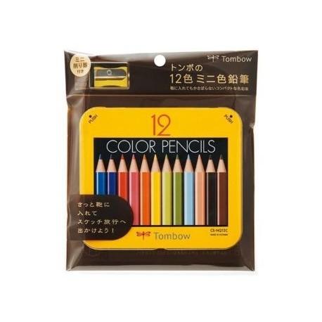 Boîte de 12 crayons de couleur avec un taille crayon